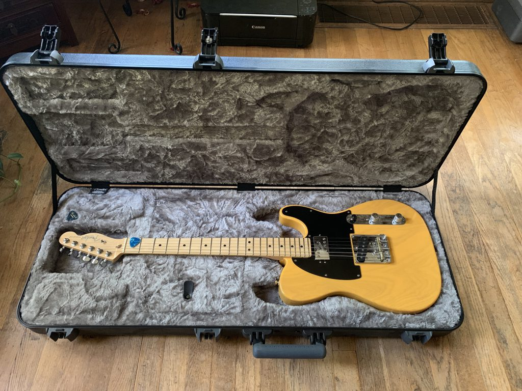 2018 Fender Limited Edition Professional Telecaster Butterscotch H/S